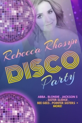 Disco Party poster agents